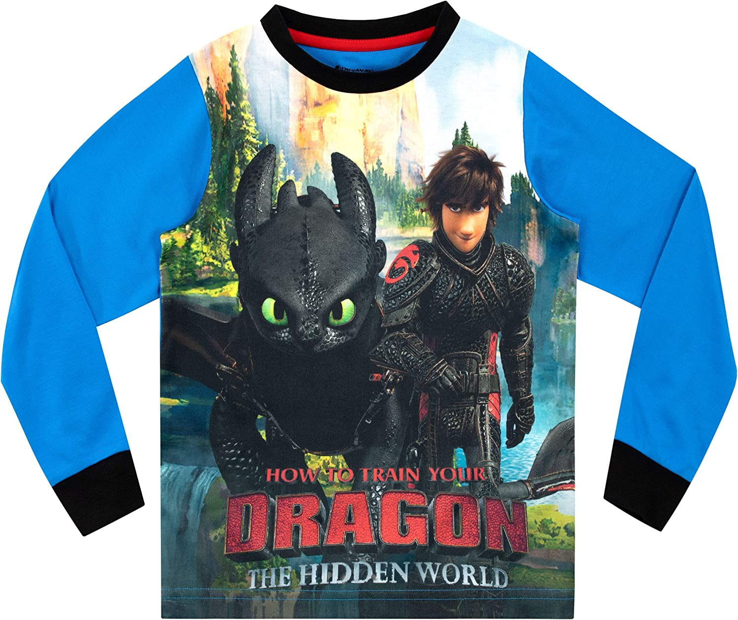How To Train Your Dragon Boys Pajamas