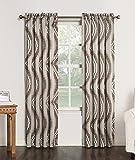 "Sun Zero 43952 Jeff Energy Efficient Rod Pocket Curtain Panel, 54 x 63"", Natural"