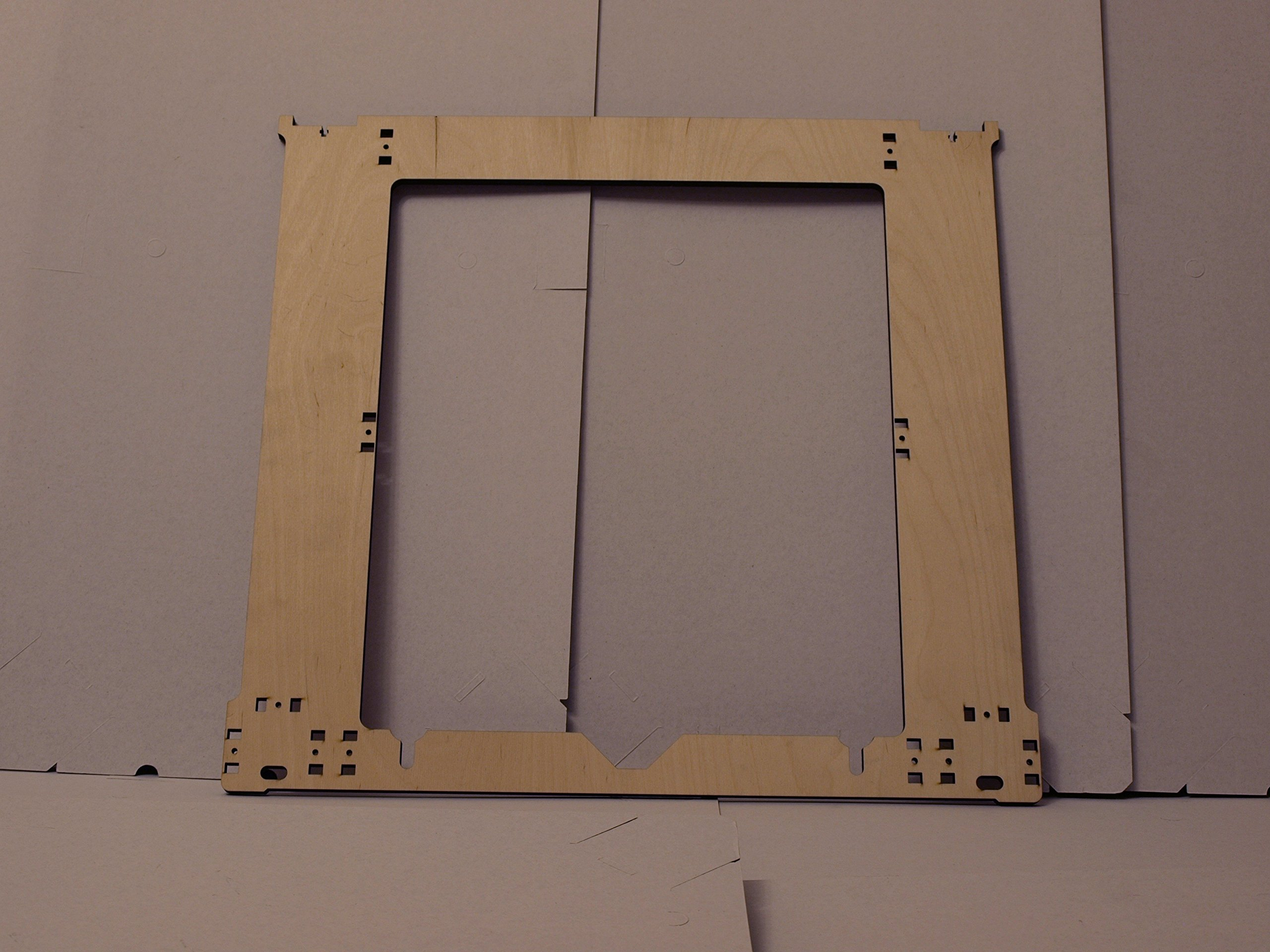 GO-3D PRINT 220mm x 220mm Polypropylene Glass Fiber Plate Bed w//Corners Cut for Wanhao i3 Anet A8 MP Maker Select 3D Printer
