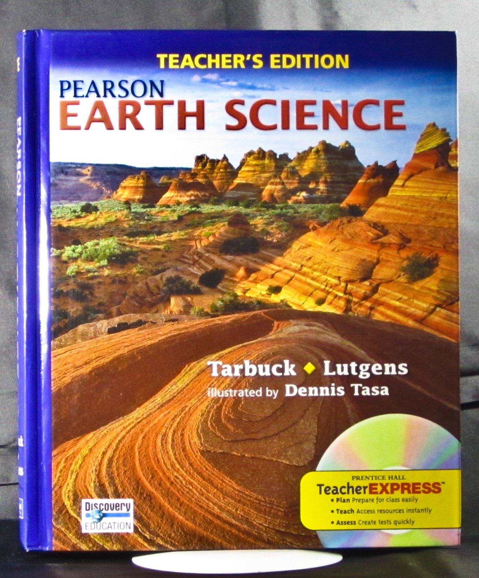 Pearson earth science teachers edition edward j and frederick k pearson earth science teachers edition edward j and frederick k lutgens tarbuck 0617215990448 amazon books fandeluxe Image collections
