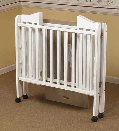 Orbelle Trading Tina Three Level Portable Crib, White
