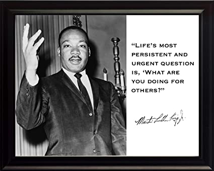 Amazoncom Martin Luther King Jr Mlk Lifes Most Persistent And