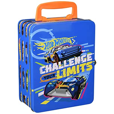 Theo Klein 2883 - Hot Wheels Cars Collecting Case (for 18 Cars)-Package May Vary: Toys & Games