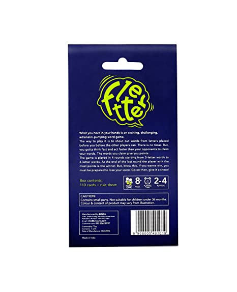 Buy Binca Fletter Card Game Online At Low Prices In India Amazon In