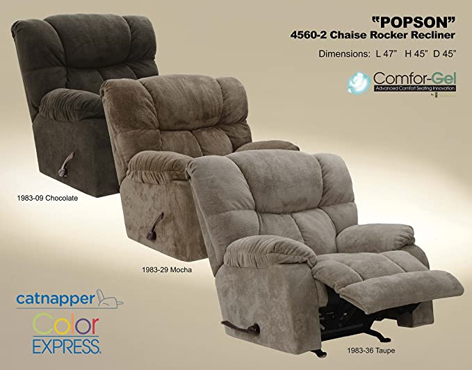 Amazon.com: catnapper popson poliéster chaise Rocker ...