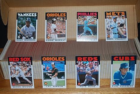 1986 Topps Baseball Complete Set 792 Ryan Clemens Rose