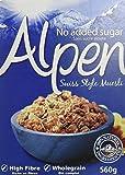 Alpen Céréales Muesli sans Sucres Ajoutés 560 g