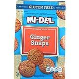 Mi Del Snap Cookies Ginger 226 g (Pack of 12)