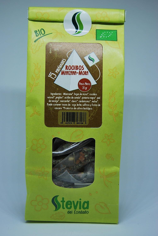 Rooibos BIO 15 Pirámides | Stevia del Condado: Amazon.es: Alimentación y bebidas