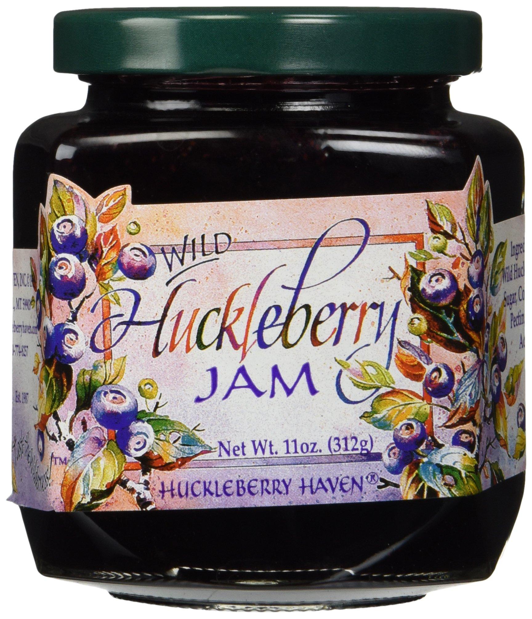 Wild Huckleberry Jam Preserves 11 Ounce