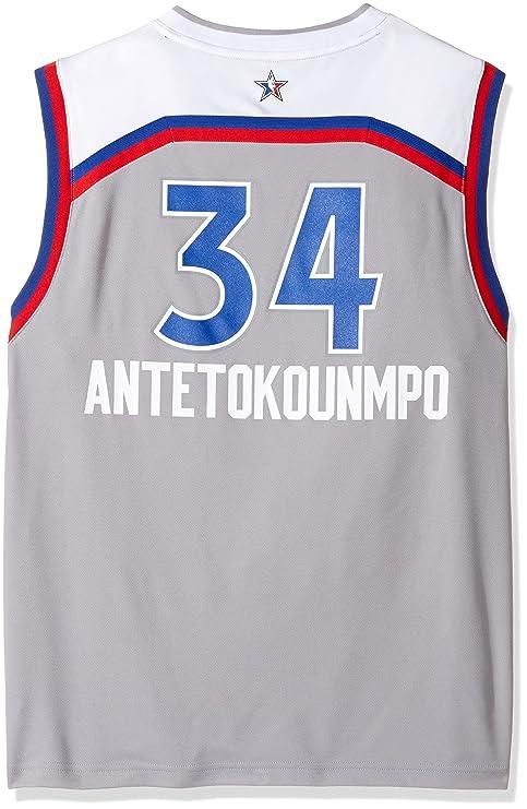 8a4143e15 Buy NBA Giannis Antetokounmpo Milwaukee Bucks Boys All Star East Replica  Jersey