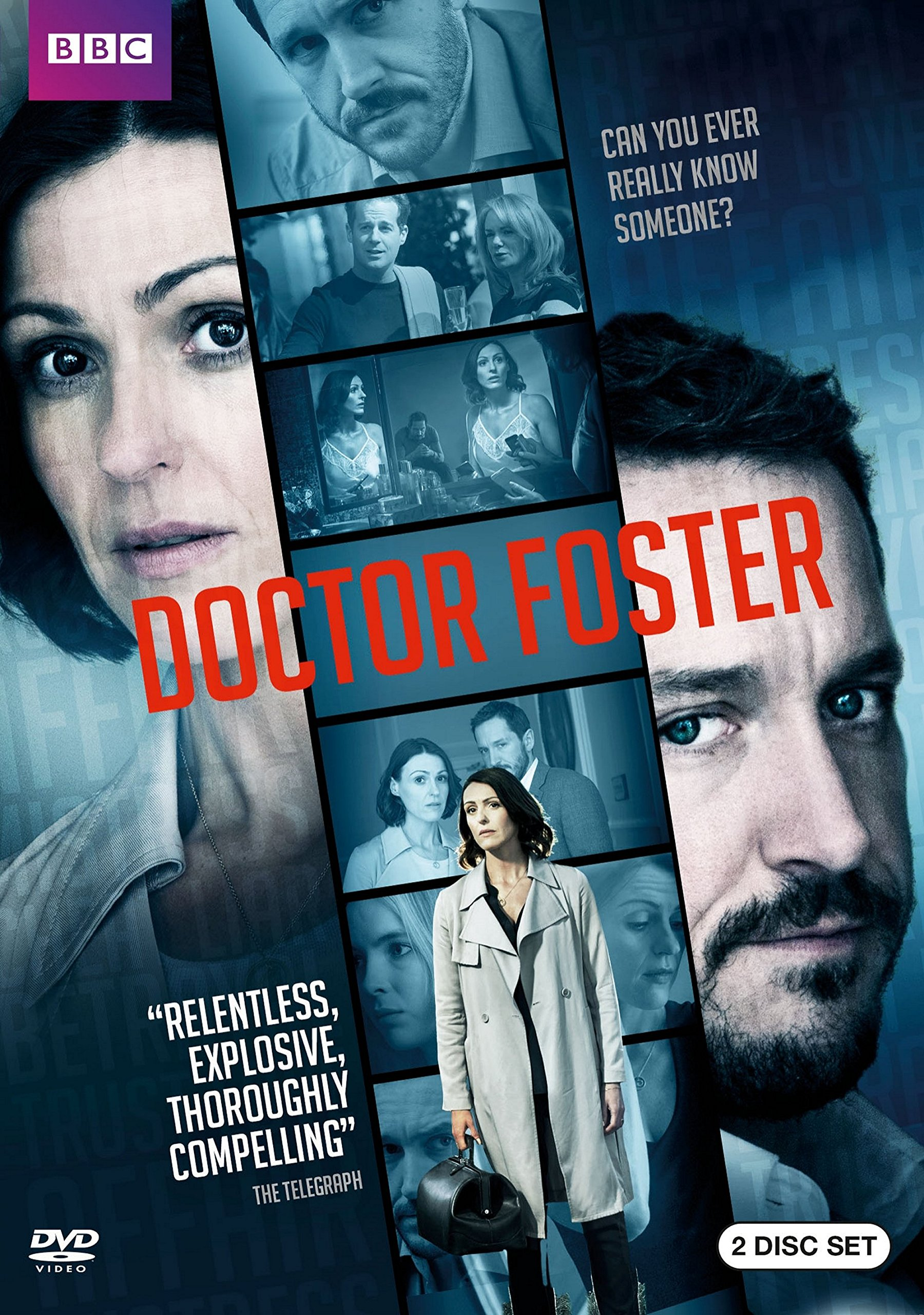 DVD : Doctor Foster (2 Pack, Eco Amaray Case, 2 Disc)
