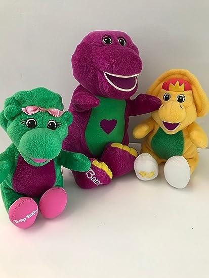 Barney Talking Spanish-Espanol With Friends