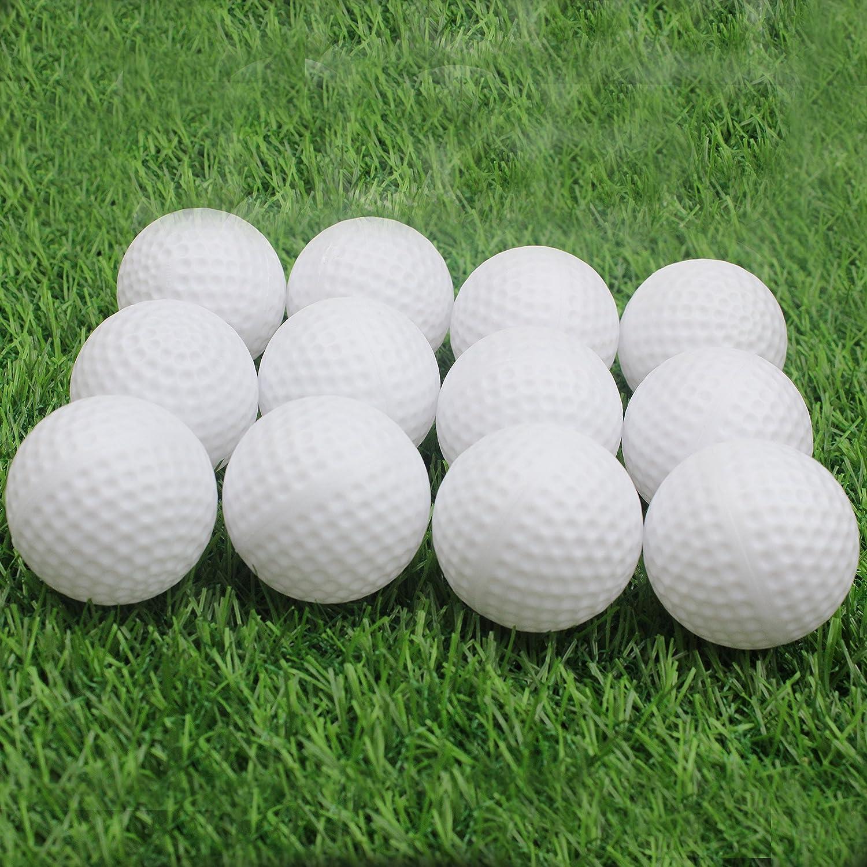 kofull - Pelotas de golf huecas de plástico duraderas para ...