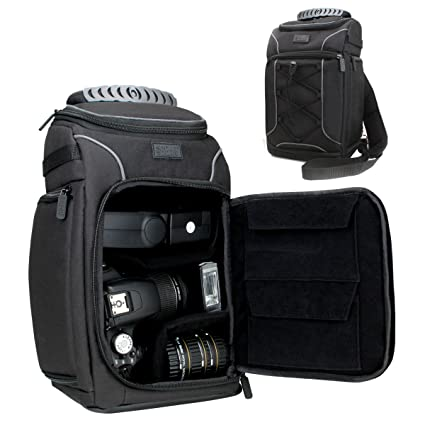 Amazon.com: Professional Camera Case Bag Backpack with Rain Cover ...