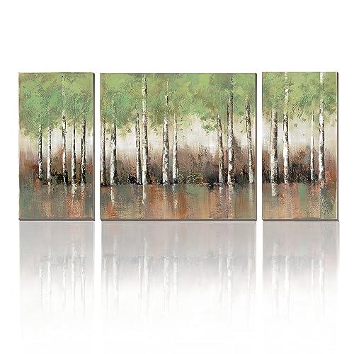 Birch Tree Painting Amazon Com