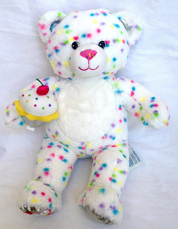Build A Bear Workshop Confetti Sprinkles Cupcake Plush Bear