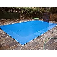 Cobertor, lona, cubierta,toldo,... de invierno para cubrir una piscina de 5 x 10 m. Medidas totales del cobertor: 5,30 x…