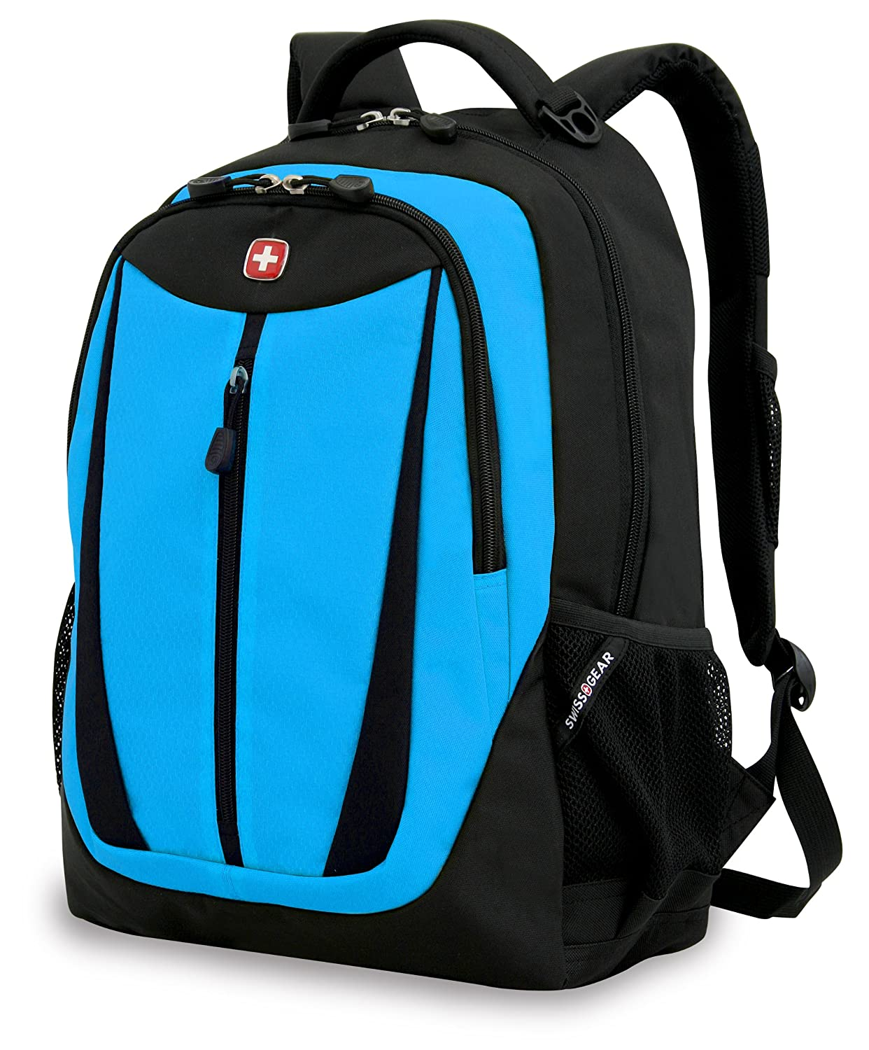 Amazon.com: Swiss Gear SA3077 Black with Blue Lightweight Laptop ...