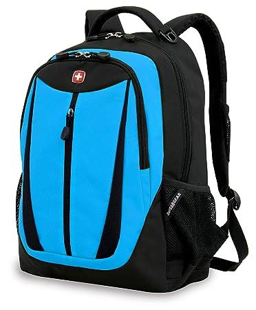 Amazon.com: Swiss Gear SA3077 Black with Blue Lightweight Laptop ...