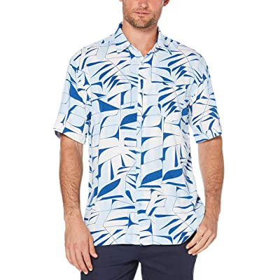 Cubavera Men's Ss Rayon Allover Pri at Men's Clothing store