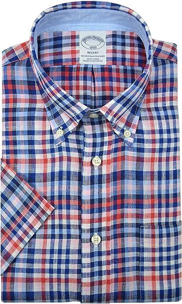 Brooks Brothers Regent Fit - Camiseta de manga corta para ...