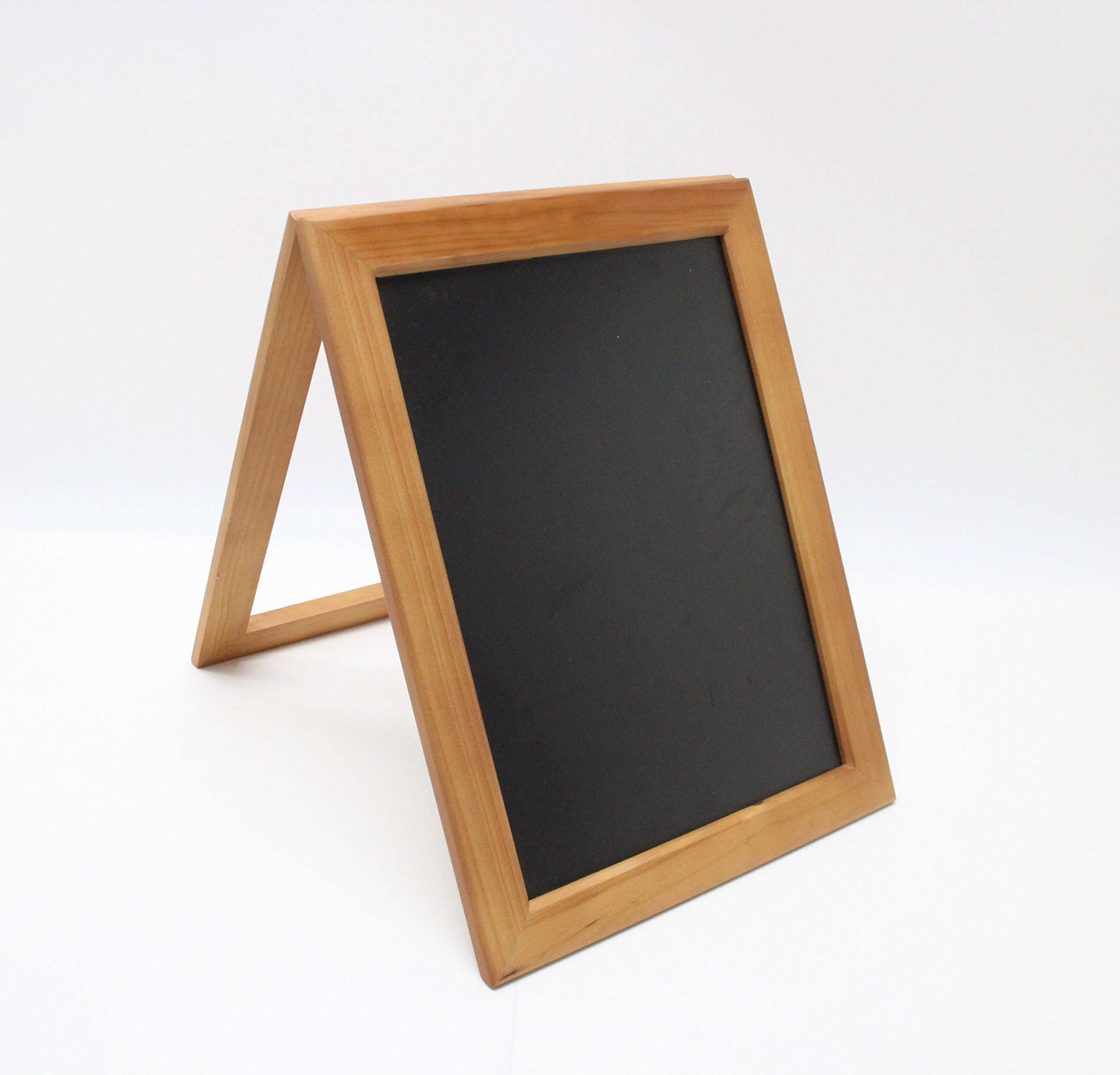 FixtureDisplays 10.6 x 14'' Coutertop Sign A Frame Wood Chalkboard For Wedding Or Small Business 21059-NF
