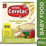 Nestle Cerelac Shishu Aahaar Baby Cereal - 300 g (Khichdi with Vegetables & Ghee)