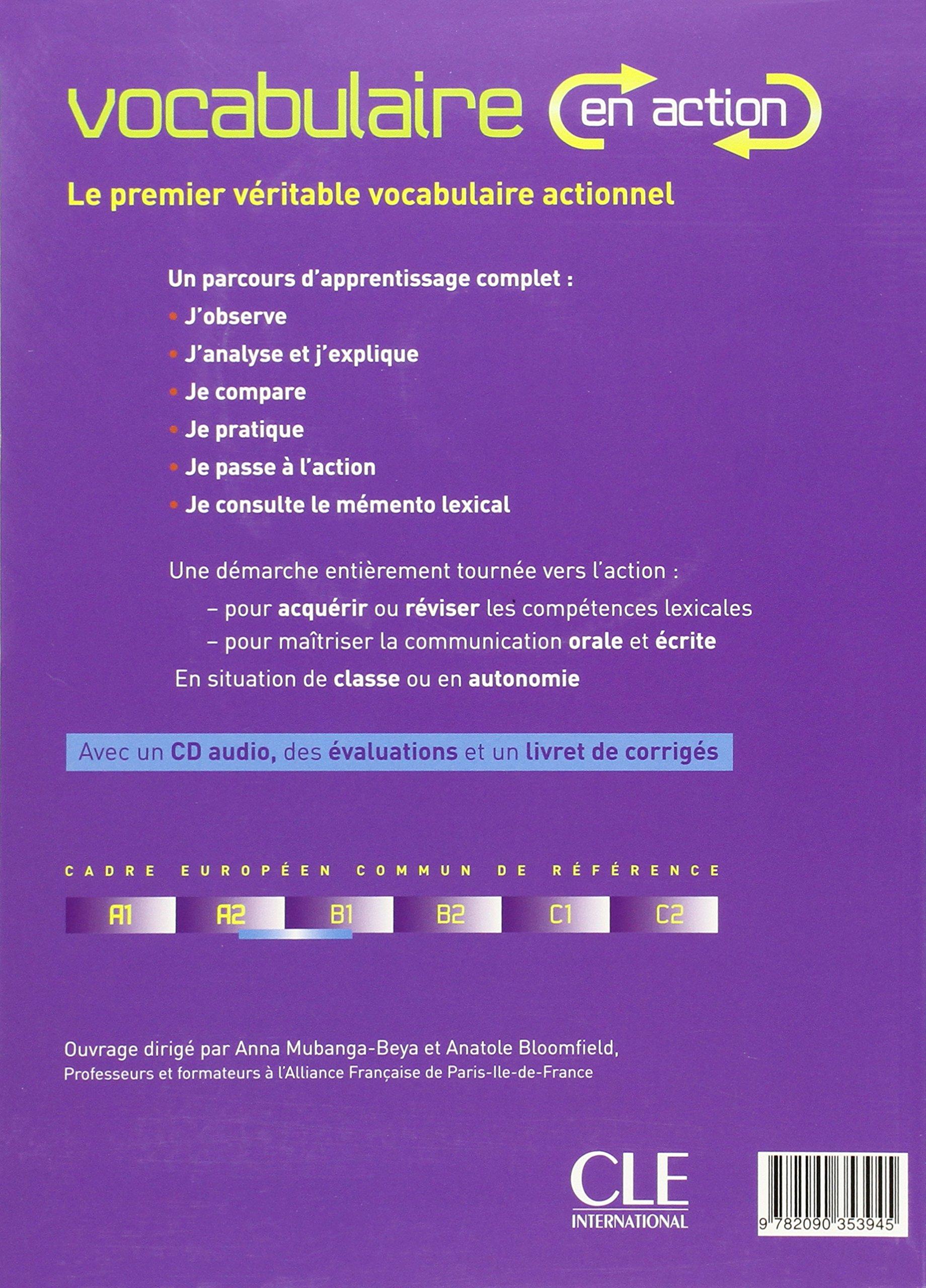 Vocabulaire En Action Pdf