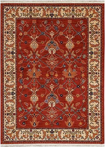 Karastan English Manor William Morris Red Rug Rug Size Runner 2 6 x 8