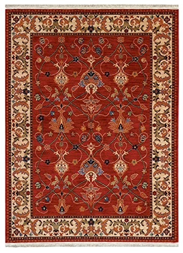 Karastan English Manor William Morris Red Rug Rug Size Runner 2 6 x 8