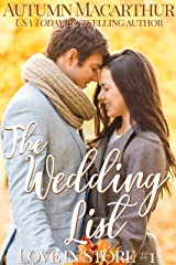 The Wedding List: A sweet and clean Christian reunion romance set in London (Love In Store Book 1) Kindle Edition