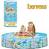 BENROSS 83430 Rigid Sides Seaworld Design Pool Swimming, Multi-Colour, 47-Inch