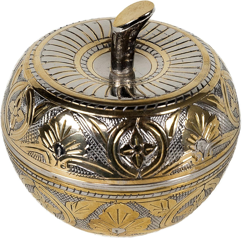 Orientalische Orient Zuckerdose Minzdose Dose Metall Schmuck Schatulle Deko NEU