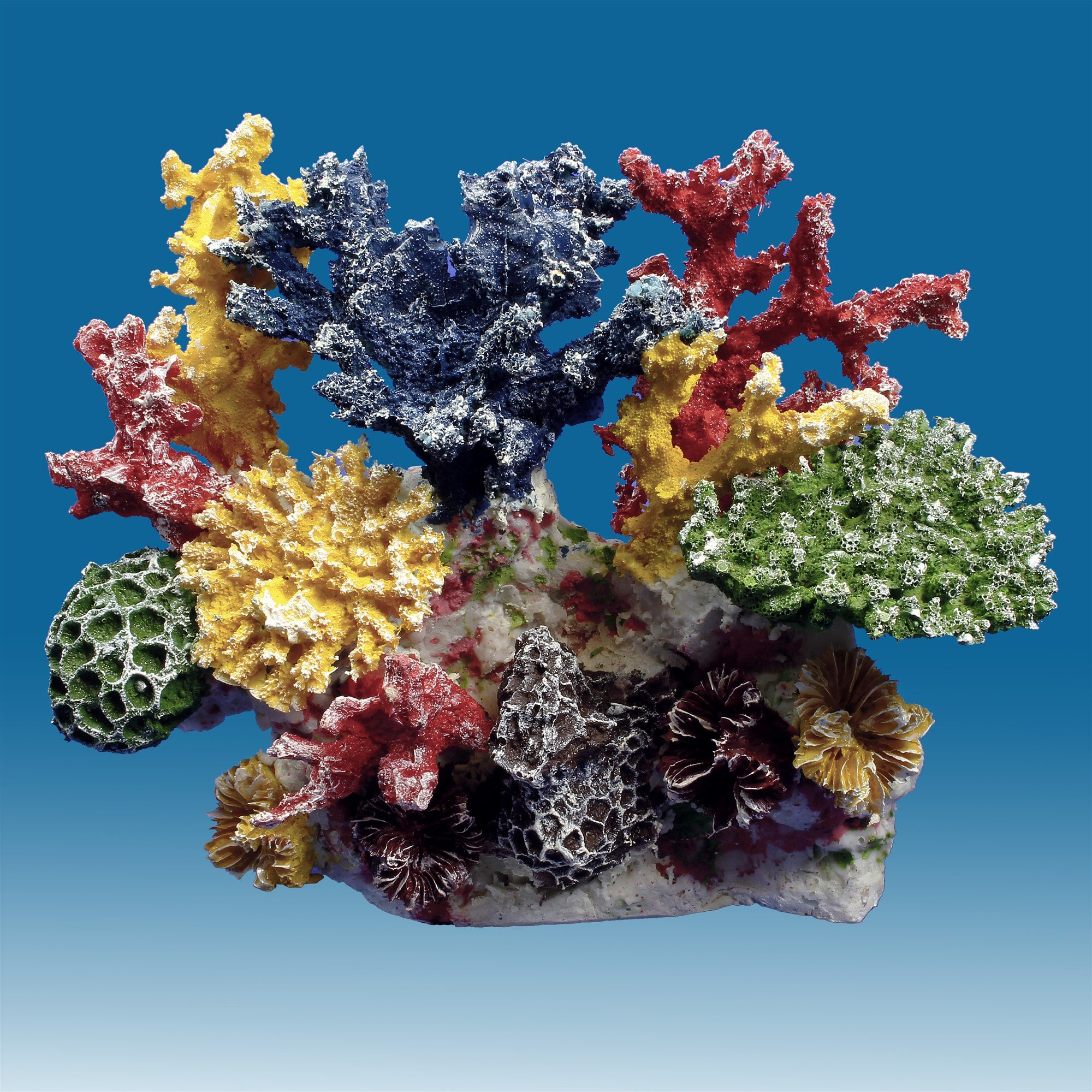 Instant Reef DM036 Artificial Coral Inserts Decor, Fake Coral Reef Decorations for Colorful Freshwater Fish Aquariums, Marine and Saltwater Fish Tanks by Instant Reef