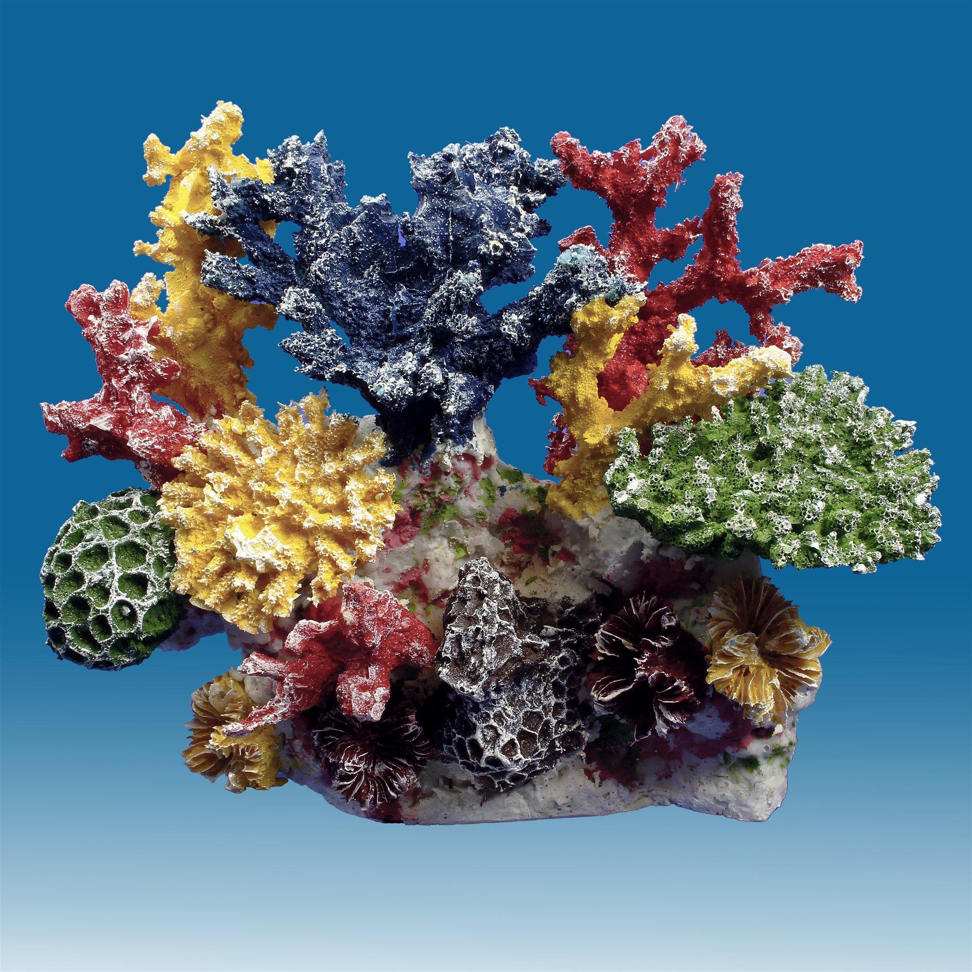 Instant Reef DM036 Artificial Coral Reef Aquarium Decor for Saltwater Fish, Marine Fish Tanks and Freshwater Fish Aquariums