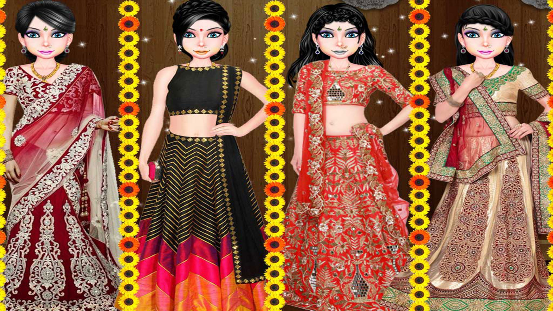 Amazon Com Indian Wedding Girl Fashion Salon Appstore For Android