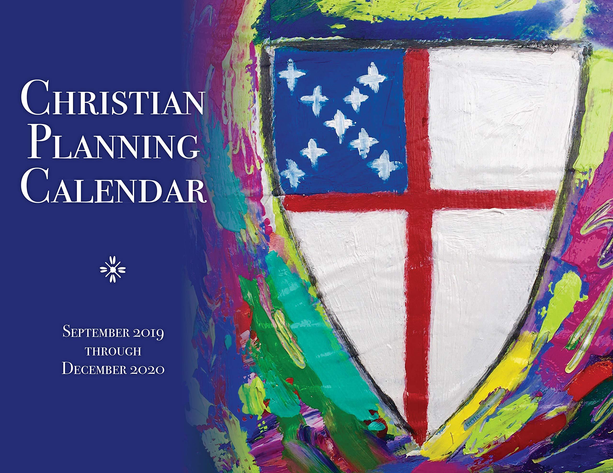 Chrisitan Concert Calendar December 2020 Christian Planning Calendar 2019 2020: September 2019 through