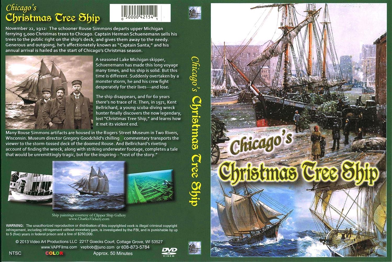 Amazon Com Chicago S Christmas Tree Ship Gregory Goodchild Kent