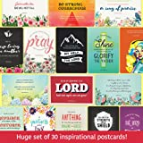 the Hope Deck: 30 Inspirational Christian Postcards - Wonderful Addition to your Bible Journaling Supplies - Inspirational Christian Gifts for Women - Scripture Cards - 4x6 - 18pt Stock - USA Made