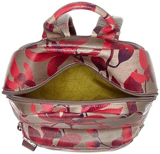 Oilily Jolly Backpack Mvz, Sacs à dos femme, Rot (Dark Red), 13x36x22 cm (B x H T)