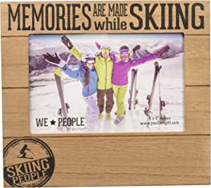 Pavilion Gift Company Memories are Made While Skiing 4x6 Picture Frame