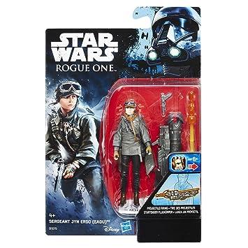 "Star Wars SERGEANT JYN ERSO Jedha Revolt Rogue One 3.75/"" hasbro action figure"