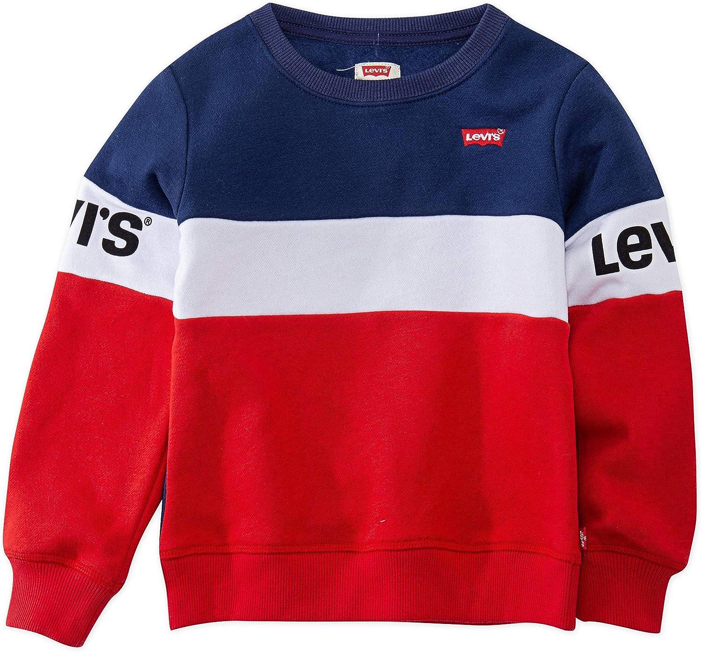 Levis Baby Girls Crewneck Sweatshirt