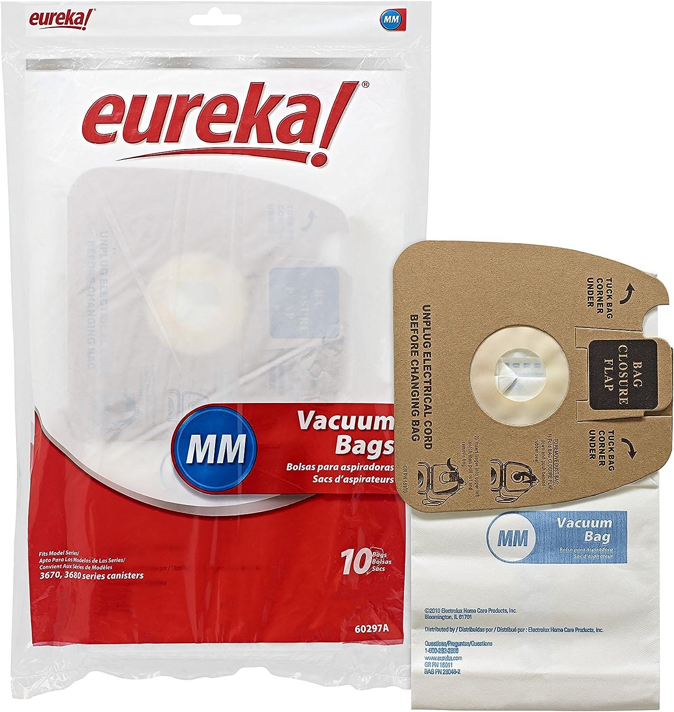 B000TK05II Genuine Eureka MM Vacuum Bag 60297A Style - 10 bags per Unit 91tzSOu9UyL