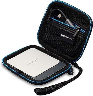 Supremery Cubierta para Seagate Fast SSD Discos Duros Caja Funda ...