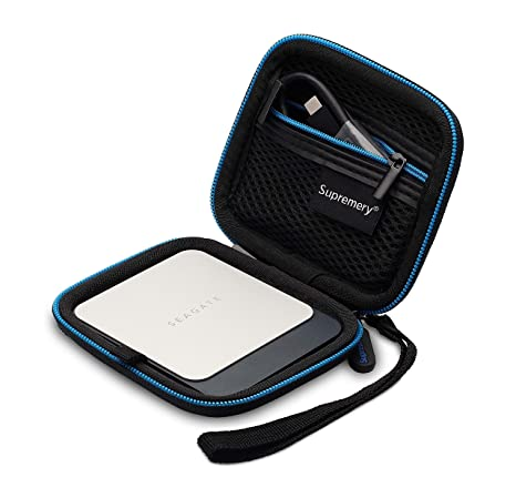 Supremery Cubierta para Seagate Fast SSD Discos Duros Caja ...