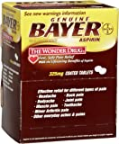 Bayer BXBG50 Aspirin Tablets, Two-Pack (Box of 50)