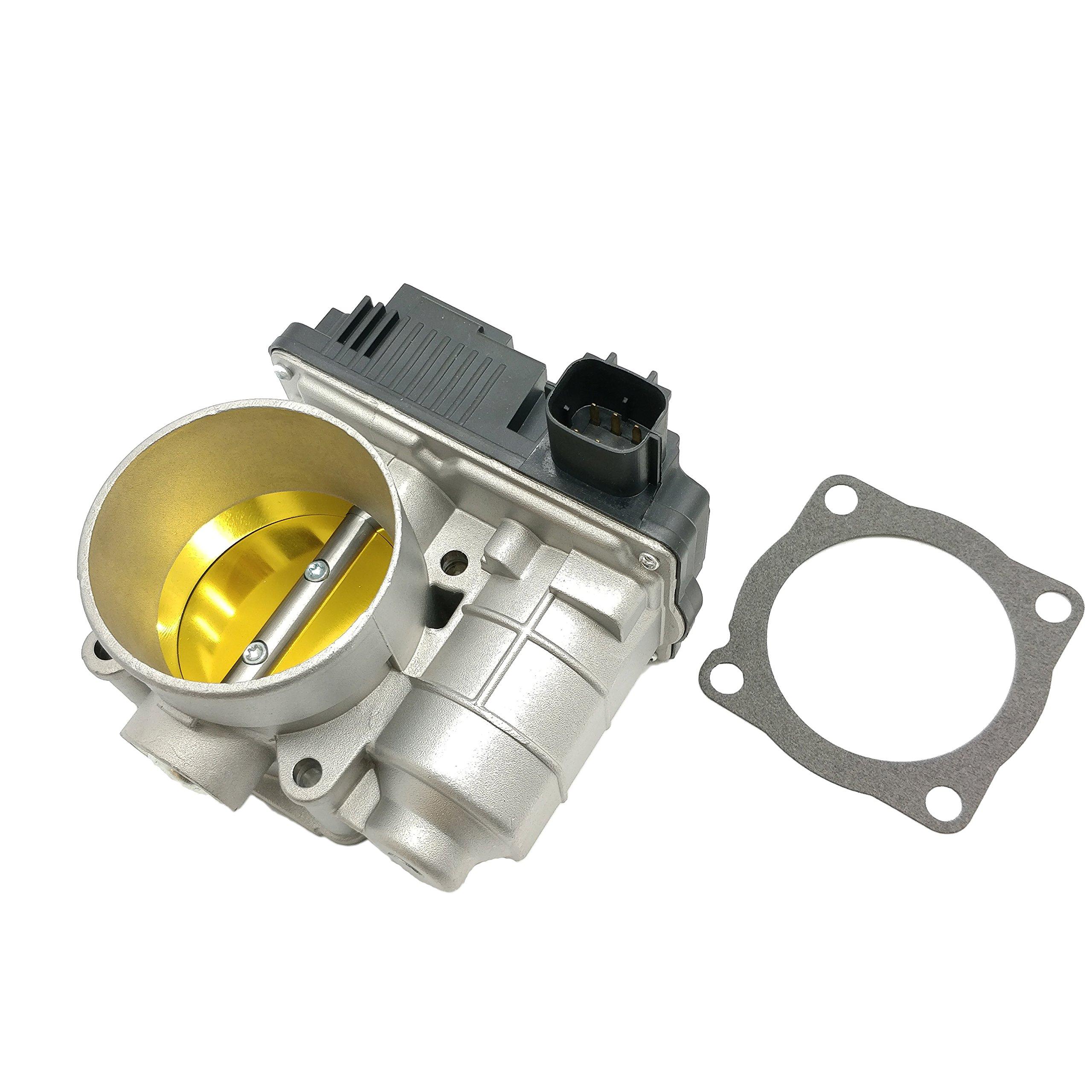 60mm Throttle Body for 2002-2005 Nissan Altima Sentra X-Trail 2.5L QR25DE 16119AE013 by Nova Parts Sales