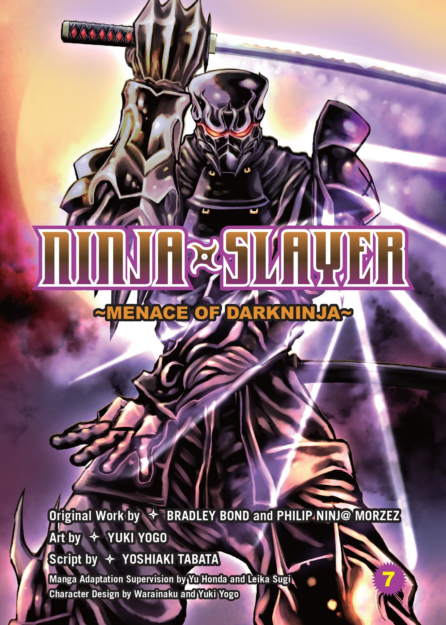 Ninja Slayer, Part 7: Menace Of Darkninja: Amazon.es ...